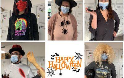 Recyclea aux couleurs d'Halloween !