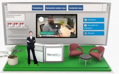 Recyclea présent sur le salon en ligne HandiHA